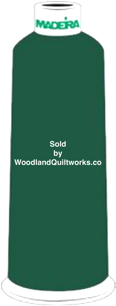 Madeira Burmilana Wool #12 Thread : Color 813-3821 Green - Woodland Quiltworks, LLC