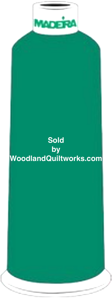 Madeira Burmilana Wool #12 Thread : Color 813-3825 Green - Woodland Quiltworks, LLC