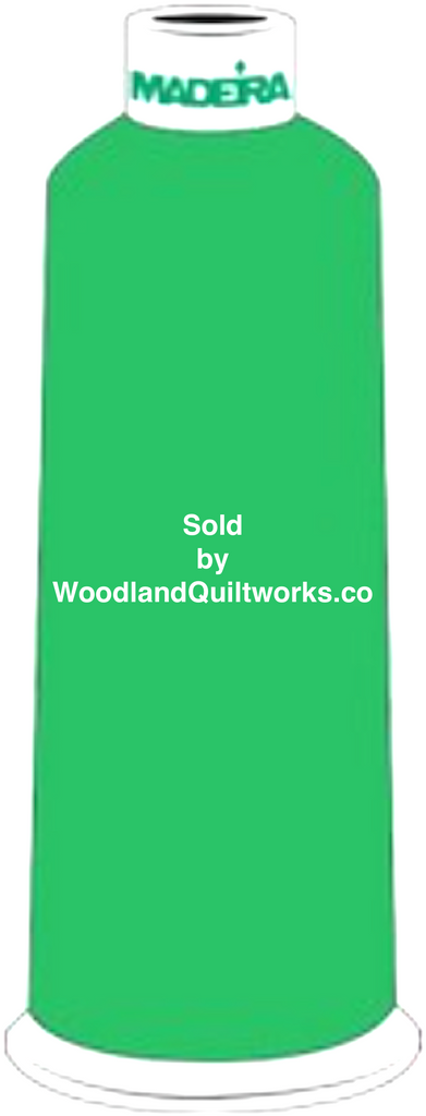 Madeira Burmilana Wool #12 Thread : Color 813-3826 Green - Woodland Quiltworks, LLC