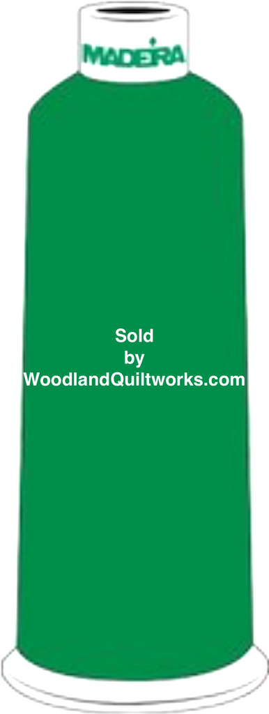Madeira Burmilana Wool #12 Thread : Color 813-3827 Green - Woodland Quiltworks, LLC