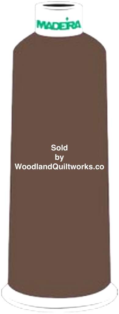 Madeira Burmilana Wool #12 Thread : Color 813-3831 Brown - Woodland Quiltworks, LLC