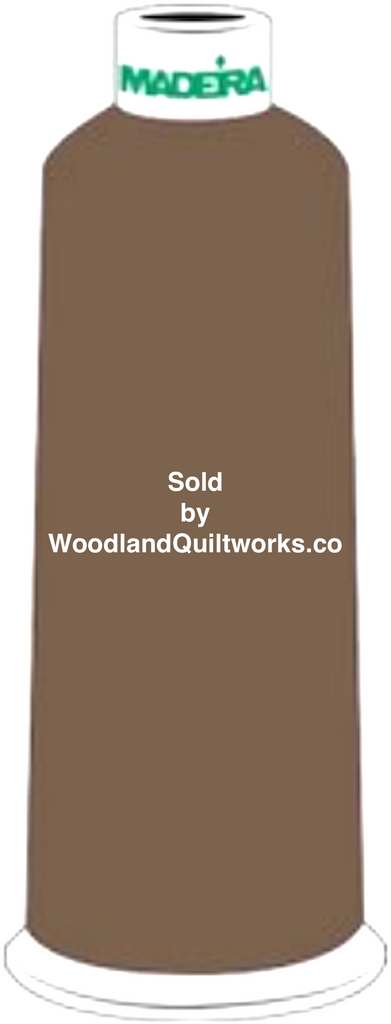 Madeira Burmilana Wool #12 Thread : Color 813-3832 Green - Woodland Quiltworks, LLC