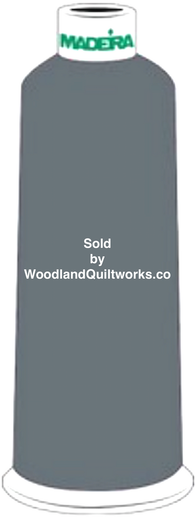 Madeira Burmilana Wool #12 Thread : Color 813-3837 Gray - Woodland Quiltworks, LLC