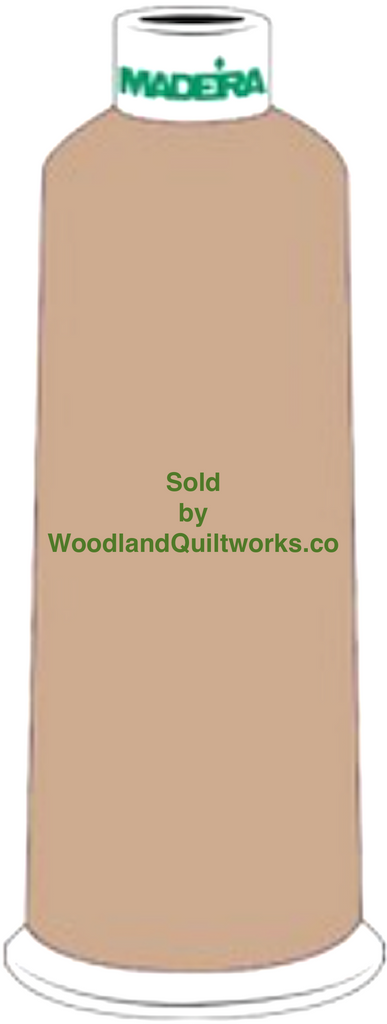 Madeira Burmilana Wool #12 Thread : Color 813-3841 Brown - Woodland Quiltworks, LLC
