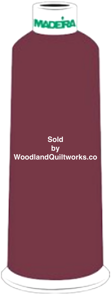 Madeira Burmilana Wool #12 Thread : Color 813-3864 Red Brown - Woodland Quiltworks, LLC