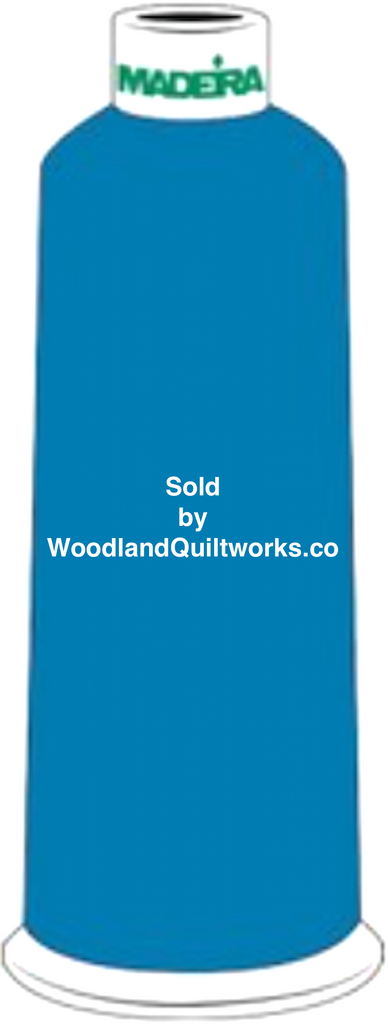 Madeira Burmilana Wool #12 Thread : Color 813-3873 Blue - Woodland Quiltworks, LLC