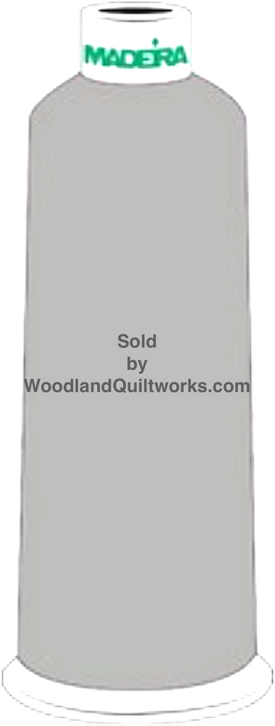 Madeira Burmilana Wool #12 Thread : Color 813-3881 Gray - Woodland Quiltworks, LLC