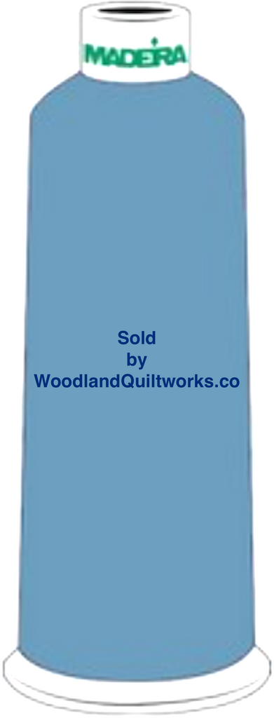 Madeira Burmilana Wool #12 Thread : Color 813-3884 Blue - Woodland Quiltworks, LLC