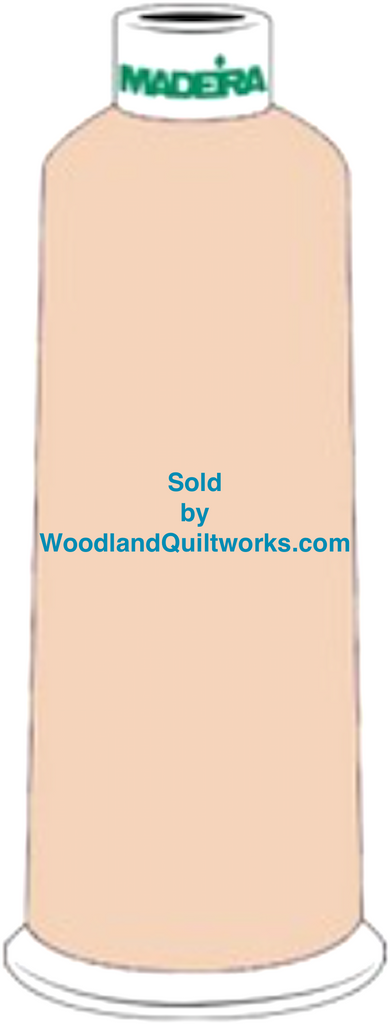 Madeira Burmilana Wool #12 Thread : Color 813-3888 Beige - Woodland Quiltworks, LLC