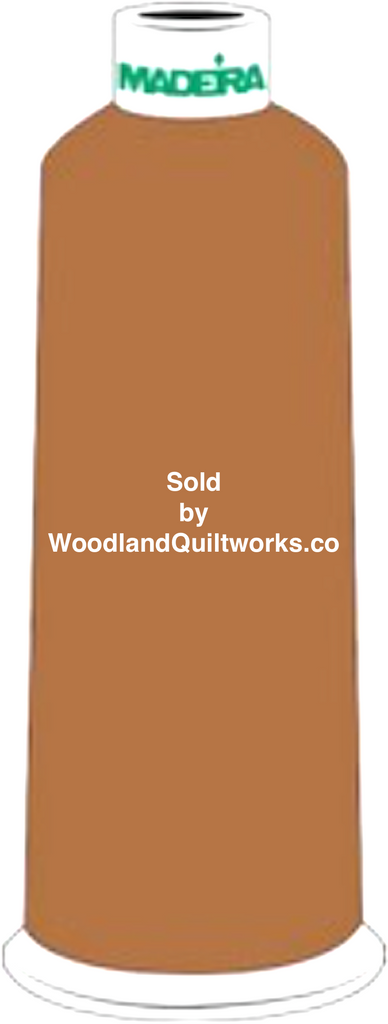 Madeira Burmilana Wool #12 Thread : Color 813-3889 Brown - Woodland Quiltworks, LLC