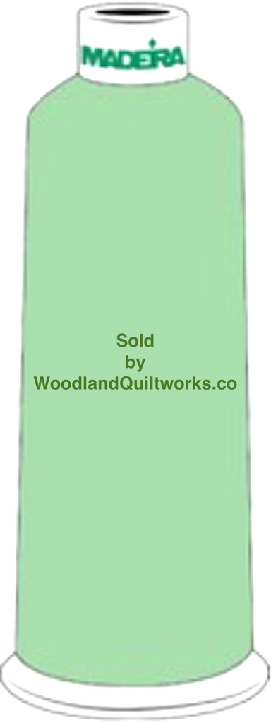Madeira Burmilana Wool #12 Thread : Color 813-3893 Green - Woodland Quiltworks, LLC