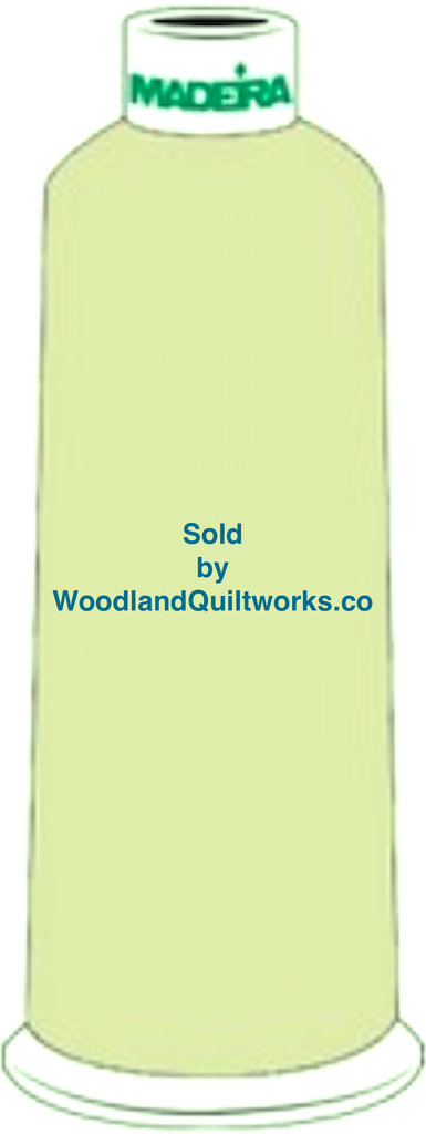 Madeira Burmilana Wool #12 Thread : Color 813-3899 Green - Woodland Quiltworks, LLC