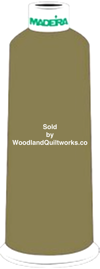 Madeira Burmilana Wool #12 Thread : Color 813-3903 Green - Woodland Quiltworks, LLC