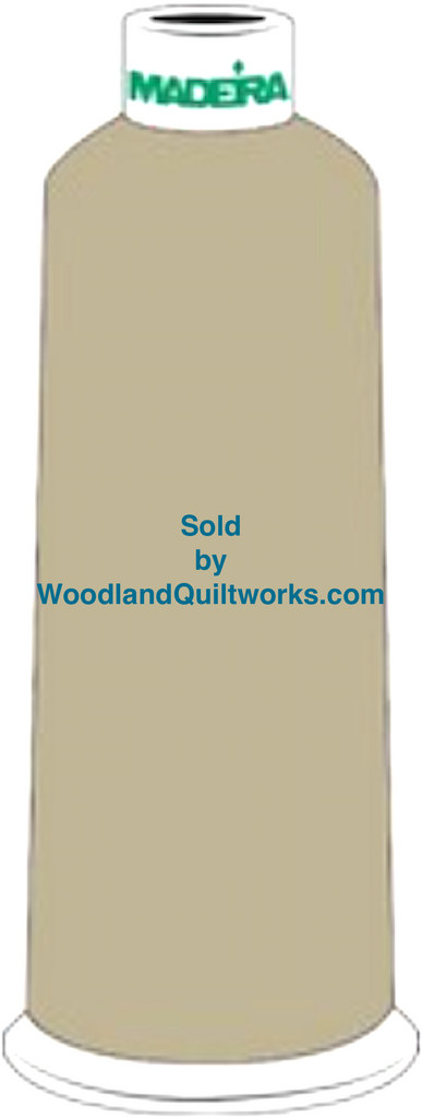 Madeira Burmilana Wool #12 Thread : Color 813-3905 Green - Woodland Quiltworks, LLC