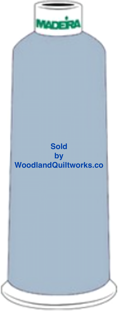 Madeira Burmilana Wool #12 Thread : Color 813-3911 Blue - Woodland Quiltworks, LLC