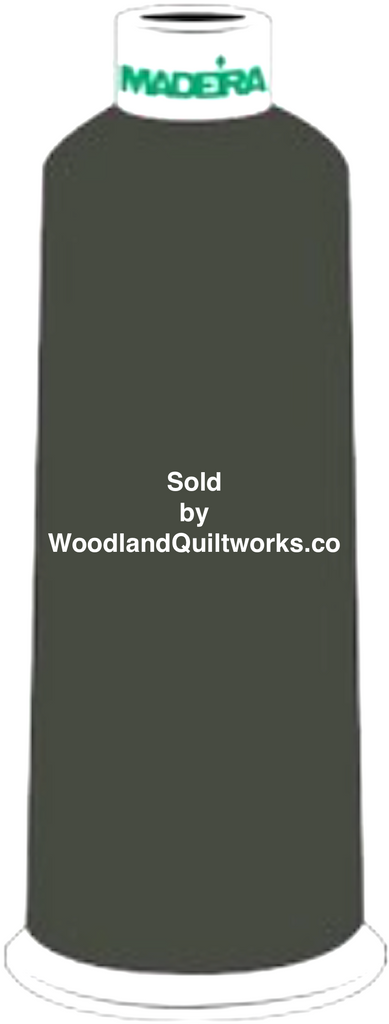Madeira Burmilana Wool #12 Thread : Color 813-3916 Green - Woodland Quiltworks, LLC