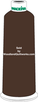 Madeira Burmilana Cotton #12 Thread : Color 816-3036 Brown Maroon - Woodland Quiltworks, LLC
