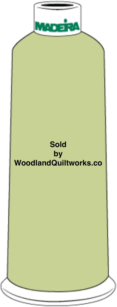 Madeira Burmilana Cotton #12 Thread : Color 816-3048 Green - Woodland Quiltworks, LLC
