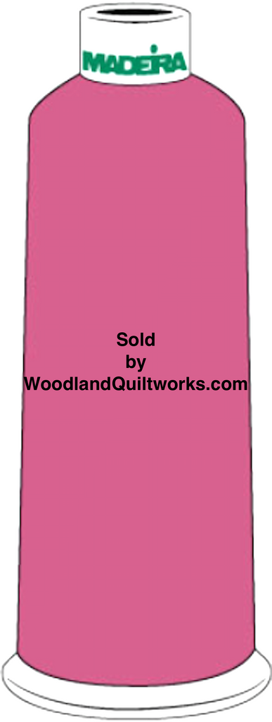 Madeira Burmilana Cotton #12 Thread : Color 816-3117 Pink - Woodland Quiltworks, LLC