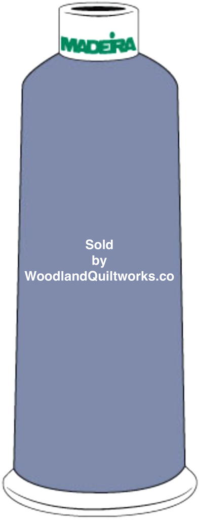 Madeira Burmilana Cotton #12 Thread : Color 816-3153 Blue - Woodland Quiltworks, LLC