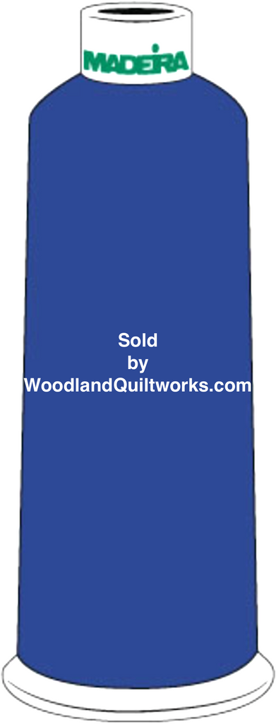 Madeira Burmilana Cotton #12 Thread : Color 816-3166 Blue - Woodland Quiltworks, LLC