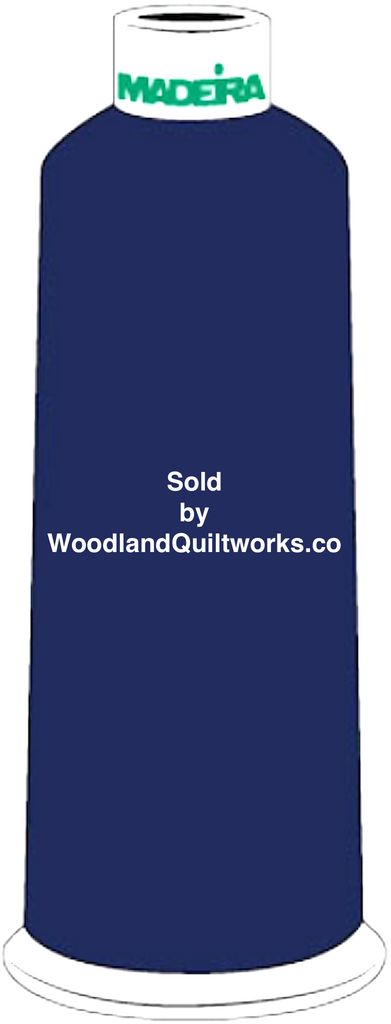 Madeira Burmilana Cotton #12 Thread : Color 816-3168 Dark Blue - Woodland Quiltworks, LLC
