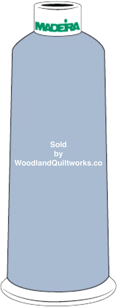 Madeira Burmilana Cotton #12 Thread : Color 816-3173 Light Blue - Woodland Quiltworks, LLC