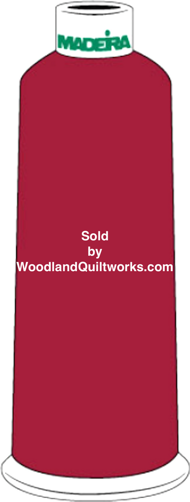 Madeira Burmilana Cotton #12 Thread : Color 816-3181 Red - Woodland Quiltworks, LLC