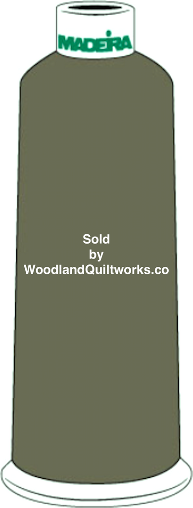 Madeira Burmilana Cotton #12 Thread : Color 816-3194 Dark Green - Woodland Quiltworks, LLC