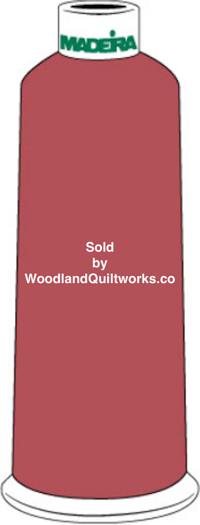 Madeira Burmilana Cotton #12 Thread : Color 816-3207 Red - Woodland Quiltworks, LLC