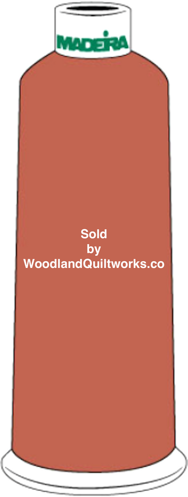 Madeira Burmilana Cotton #12 Thread : Color 816-3221 Red - Woodland Quiltworks, LLC