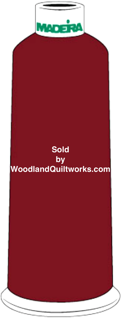 Madeira Burmilana Cotton #12 Thread : Color 816-3238 Red - Woodland Quiltworks, LLC