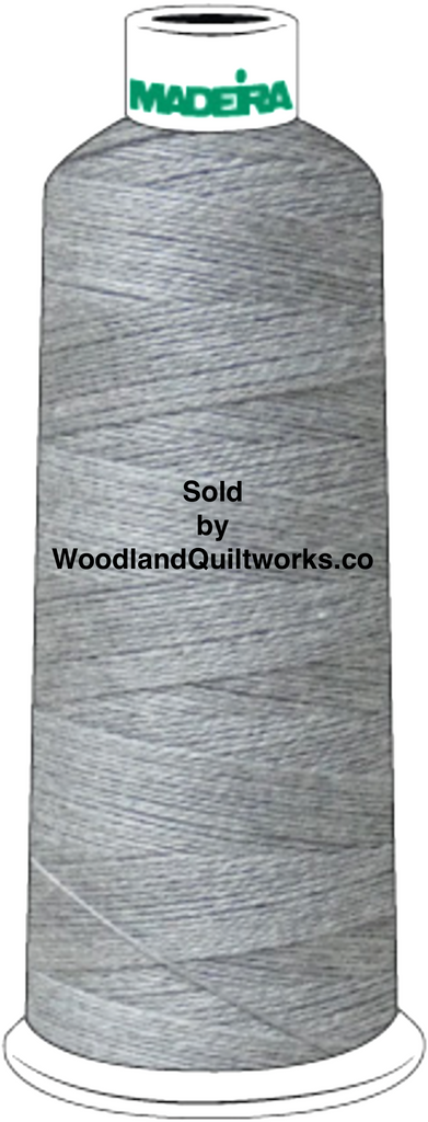Madeira Burmilana Cotton #12 Thread : Color 816-3252 Grey Melange - Woodland Quiltworks, LLC