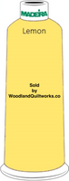 Madeira Classic Rayon #12 : Color 920-1023 Yellow, Lemon - Woodland Quiltworks, LLC