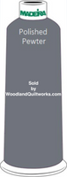 Madeira Classic Rayon #12 : Color 920-1041 Gray, Polished Pewter - Woodland Quiltworks, LLC
