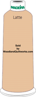 Madeira Classic Rayon #12 : Color 920-1055 Beige, Latte - Woodland Quiltworks, LLC