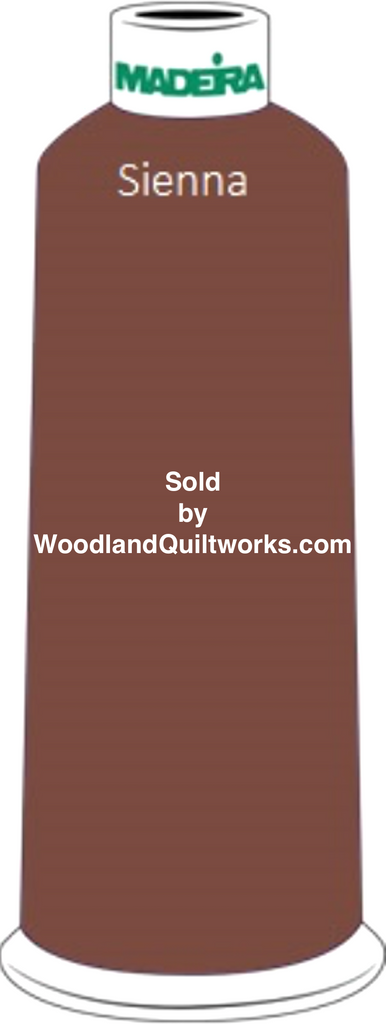 Madeira Classic Rayon #12 : Color 920-1058 Brown, Sienna - Woodland Quiltworks, LLC