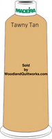 Madeira Classic Rayon #12 : Color 920-1070 Gold/Beige, Tawny Tan - Woodland Quiltworks, LLC