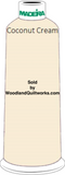 Madeira Classic Rayon #12 : Color 920-1072 Beige, Coconut Cream - Woodland Quiltworks, LLC
