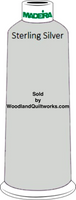 Madeira Classic Rayon #12 : Color 920-1086 Gray, Sterling Silver - Woodland Quiltworks, LLC