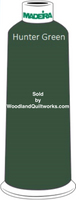 Madeira Classic Rayon #12 : Color 920-1103 Green, Hunter Green - Woodland Quiltworks, LLC