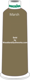 Madeira Classic Rayon #12 : Color 920-1157 Green/Brown, Marsh - Woodland Quiltworks, LLC