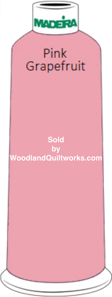 Madeira Classic Rayon #12 : Color 920-1315 Pink, Pink Grapefruit - Woodland Quiltworks, LLC