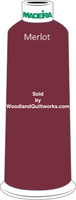 Madeira Classic Rayon #12 : Color 920-1384 Red/Purple, Merlot - Woodland Quiltworks, LLC