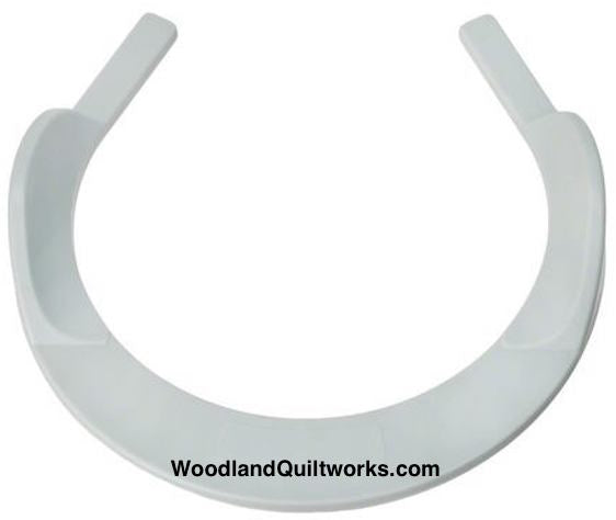 "Free Motion Hoop with Grip - 6-1/2"" Fits All Models of Sewing Machines - Woodland Quiltworks, LLC"