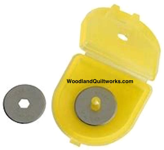 OLFA 28mm Replacement Blades - Quantity (2) - Woodland Quiltworks, LLC