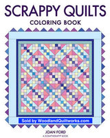 Scrappy Quilts Coloring Book by Joan Ford