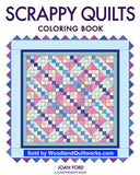Scrappy Quilts Coloring Book by Joan Ford - Woodland Quiltworks, LLC