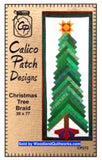 Christmas Tree Braid Quilt Pattern by Calico Patch Designs - Woodland Quiltworks, LLC