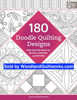 180 Doodle Quilting Designs by Karen M. Burns - Woodland Quiltworks, LLC